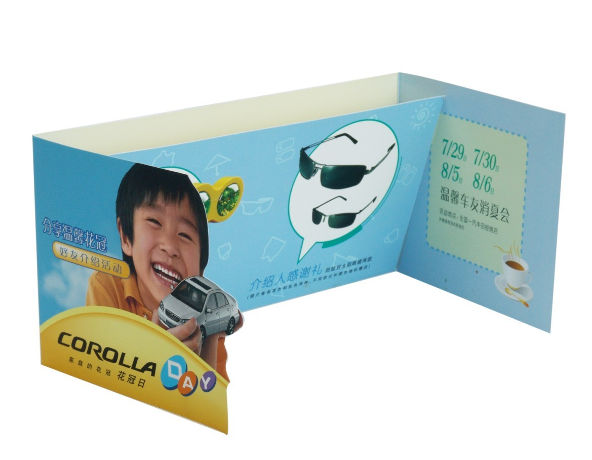 Book Printing Custom car booklet printing