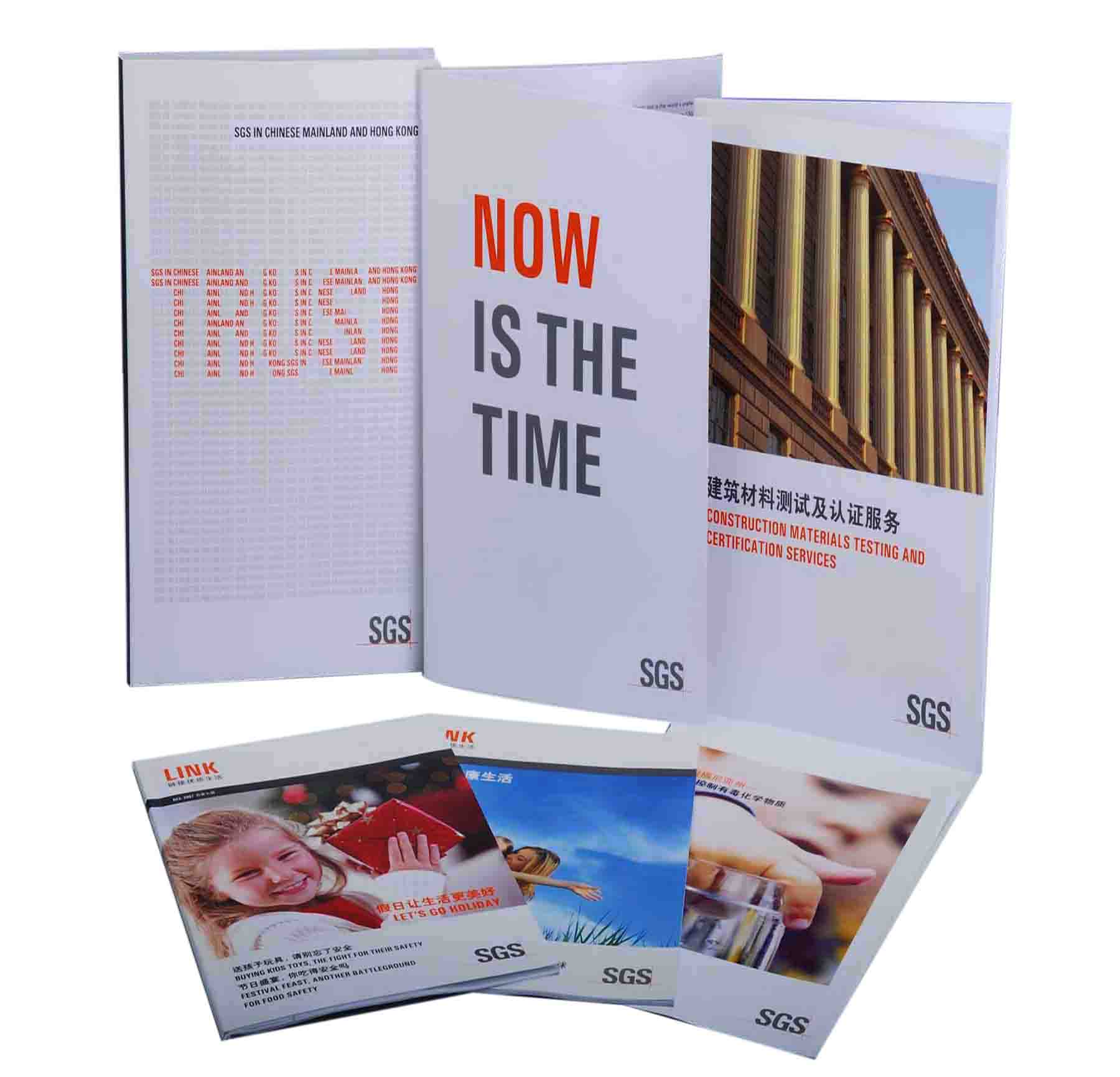 Book Printing Custom brochure printing